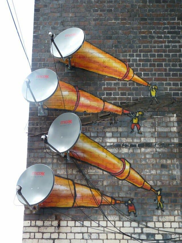 Street Art di Digbeth, Birmingham, UK