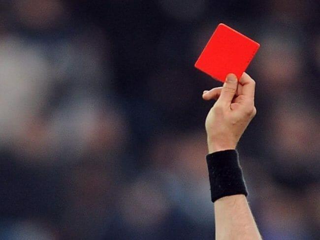 Kartu Merah Wasit