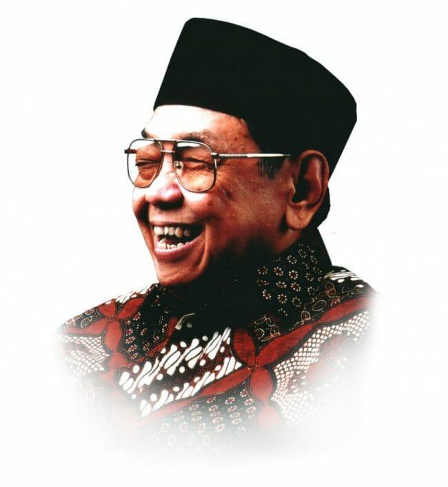 KH. Abdurrahman Wahid adalah Presiden Ke-4 Indonesia