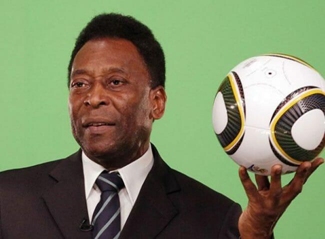 legenda sepak bola, pele