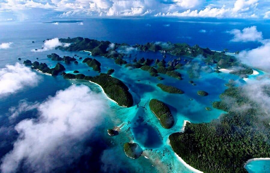 Pemandangan Raja Ampat Papua Barat