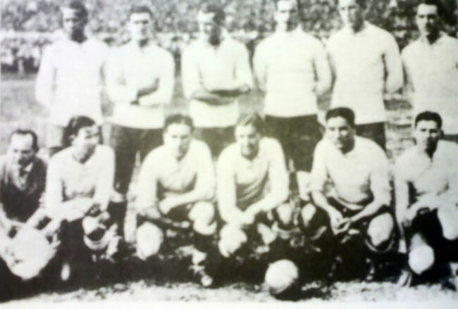 Piala Dunia Pertama, timnas uruguay