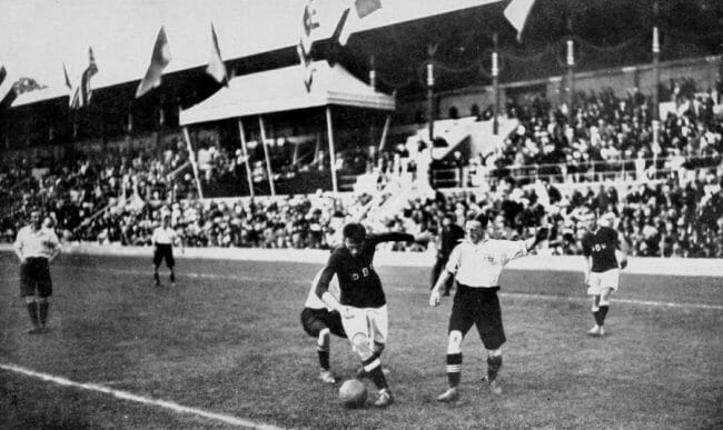 Olimpiade Sepak Bola di tahun 1908