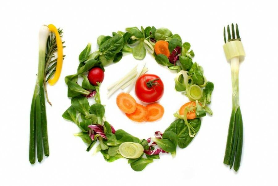 Gambar Makanan Vegetarian