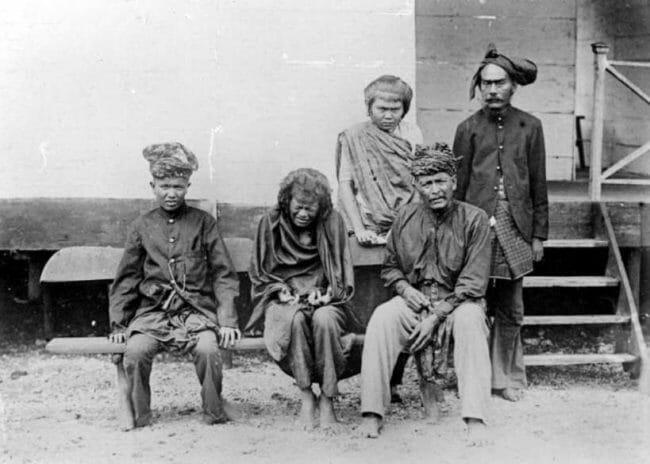 Cut Nyak Dien ditawan Belanda