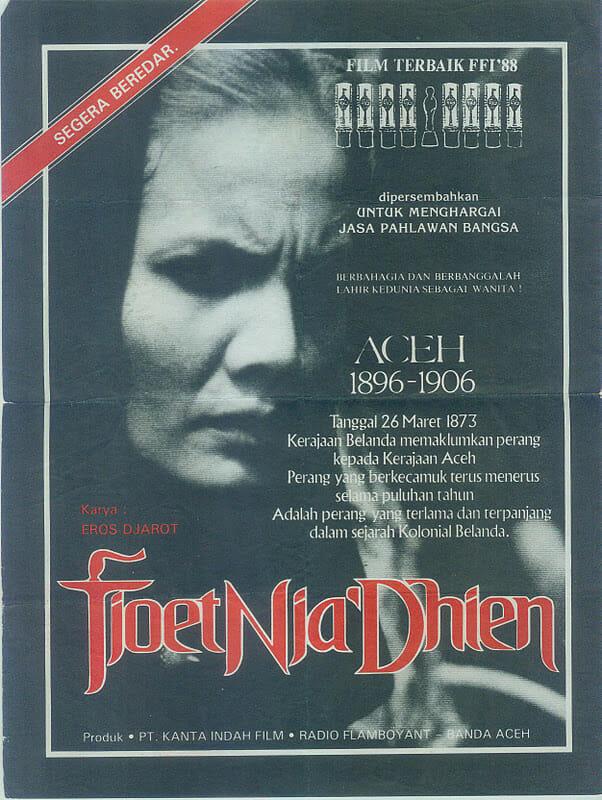 Cover film Tjoet Nja' Dhien