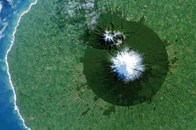 Egmont National Park di Selandia Baru