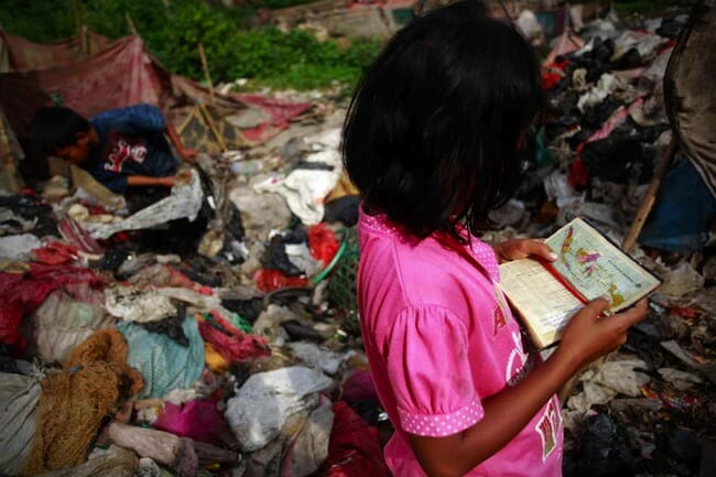 Peta Indonesia dan sampah