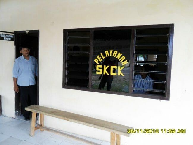 Ruang Pelayanan SKCK