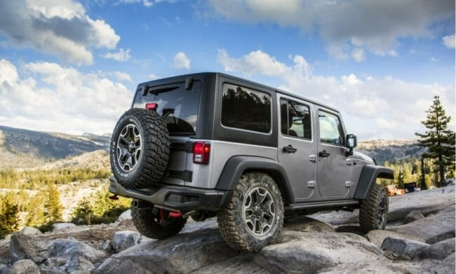 Mobil Balap - Jeep Wrangler