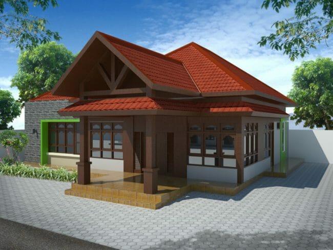 Rumah Tradisional Jawa Minimalis
