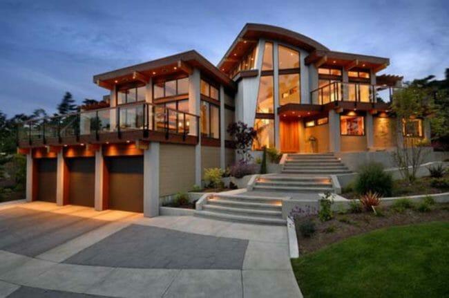 Rumah Idaman Model Villa