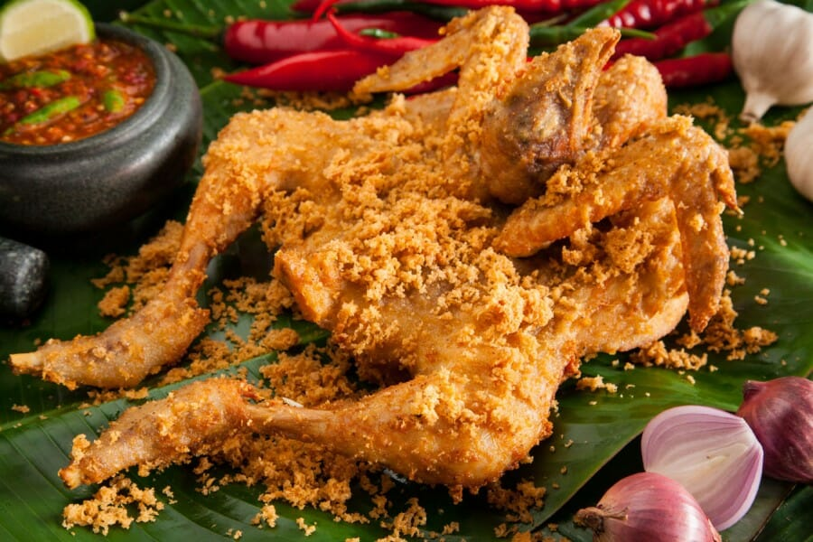 Resep Ayam Goreng Kalasan Bumbu Kremes