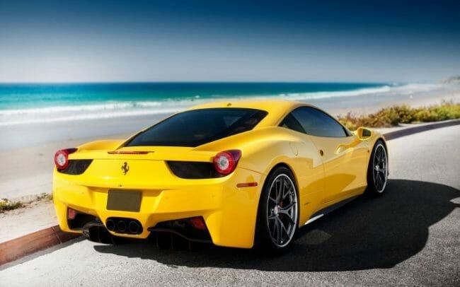 Mobil Balap - Ferarri 458 Italia