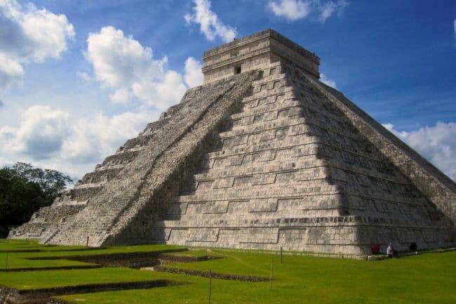 Keajaiban Dunia Pyramid at Chichén Itza, Meksiko
