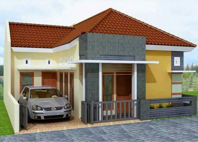 Desain Rumah Minimalis Type- 45