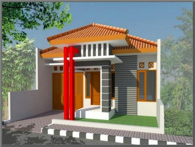 Gambar Rumah Minimalis Type 45