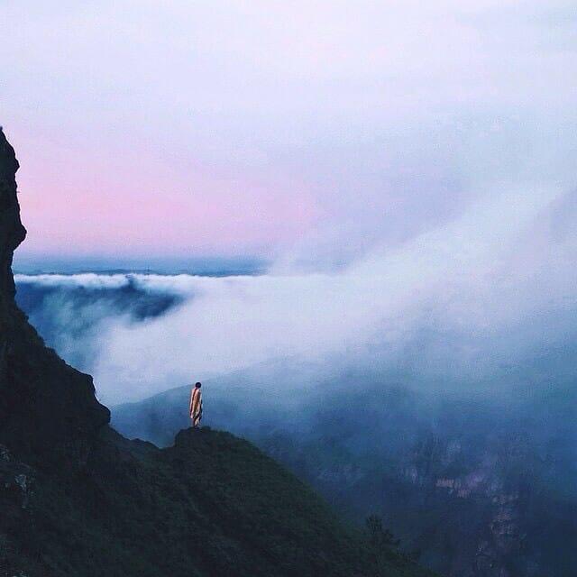 Gunung Batur di Pulau Bali
