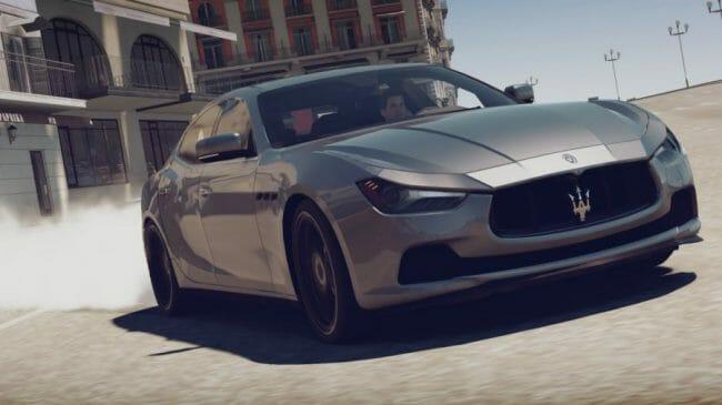 Mobil Balap - Maserati Ghibli