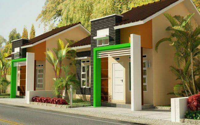Model Rumah Minimalis dengan 2 Kamar Tidur