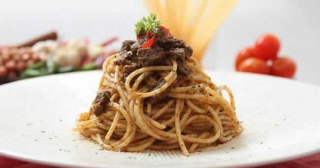 Spaghetti Bumbu Rendang