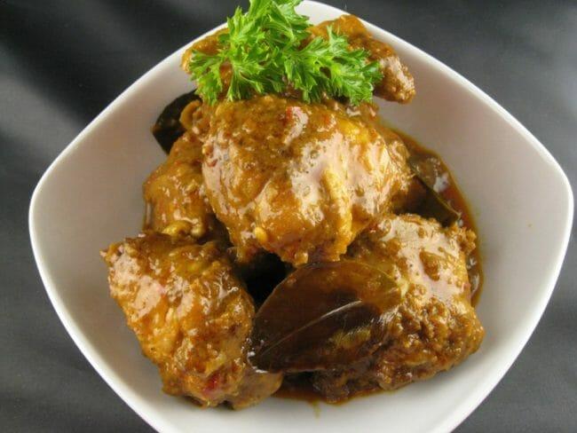 Resep Rendang Daging Ayam khas Padang