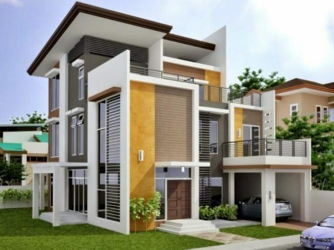 rumah-minimalis-dua-pintu-utama