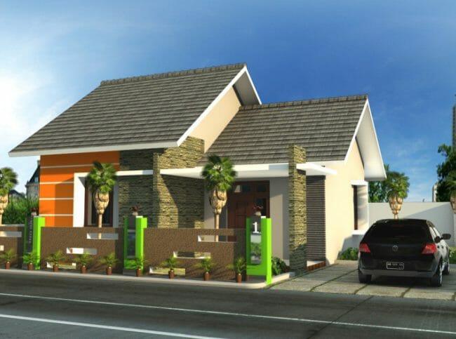 Rumah Minimalis Konsep Alam