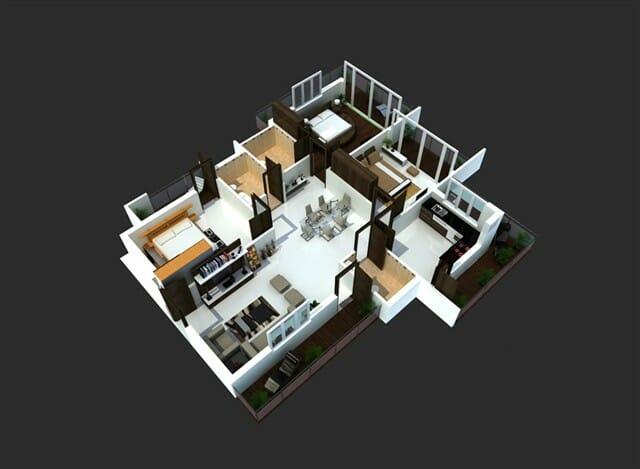 Rumah Minimalis untuk Pegawai Kantoran