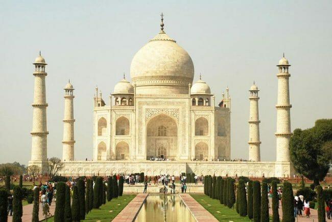 Keajaiban Dunia Taj Mahal Agra, India