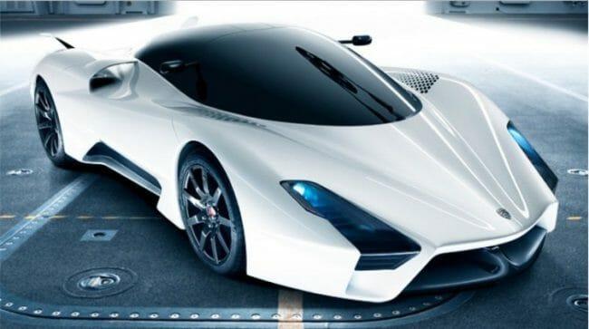 mobil balap ultimate aero sangat cepat
