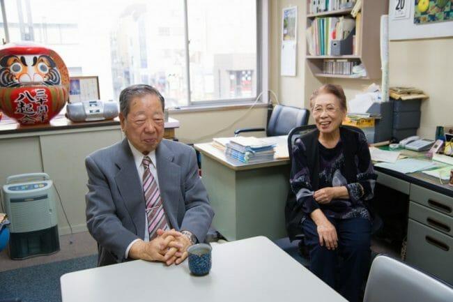 Noguchi dan istrinya, Misako, http://ignition.co