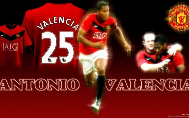 Valencia ketika mengenakan nomor punggung 25. |Pict by fifawallpapers.com