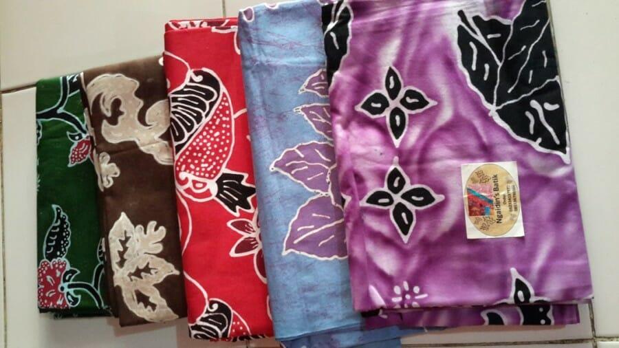 foto batik tulis jember