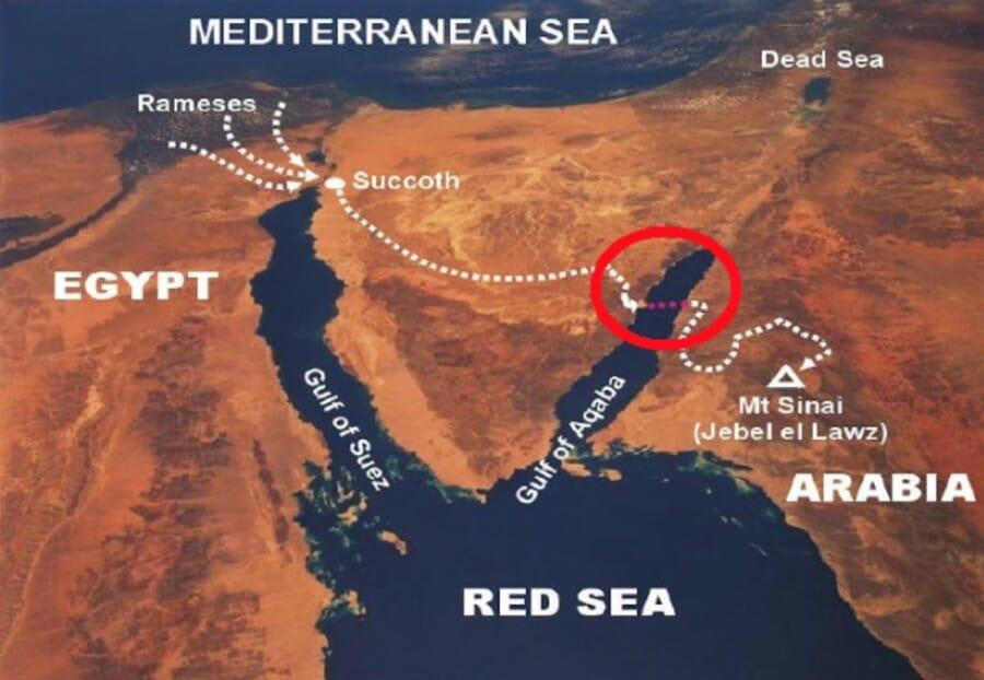 kawasan laut merah