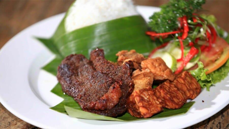 Nasi-Empal-Gepuk