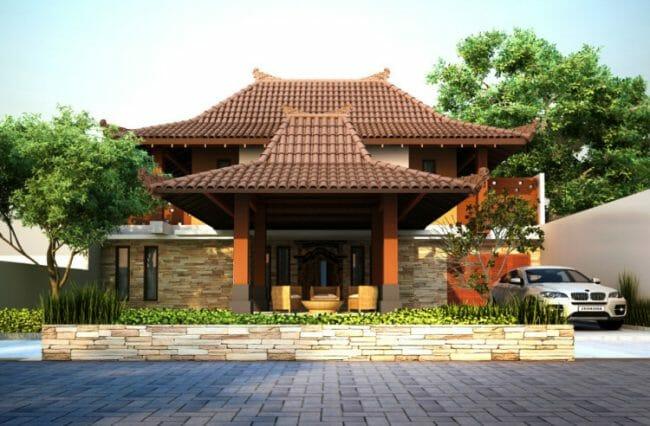 Rumah Tradisional Bali Minimalis