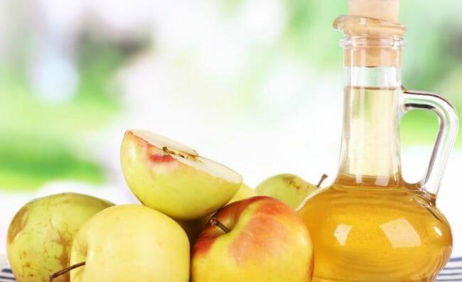 cuka apel dari bakteri fermentasi apel