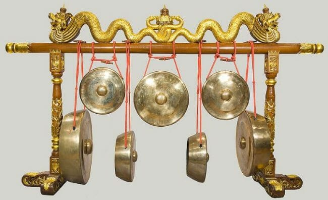 kempul alat musik tradisional