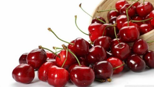 buah cherry untuk makanan darah rendah
